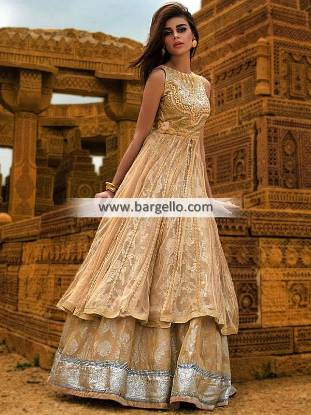 Astonishing Anarkali Dresses Teena Durrani Wedding Dresses for Formal Event