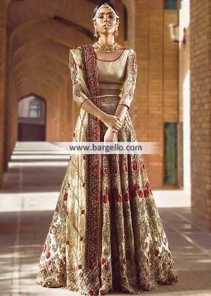 Designer Walima Dresses Reception Dresses Pittsburgh Pennsylvannia PA USA Wedding Lehenga