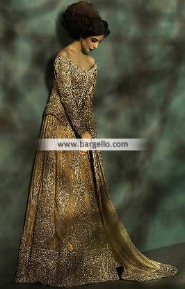 Designer Mehdi Romantic Wedding Dresses Hicksville New York for Walima or Reception