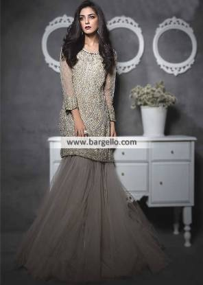 Designer Maria B Lehenga Oak Tree Road New York USA Formal Event