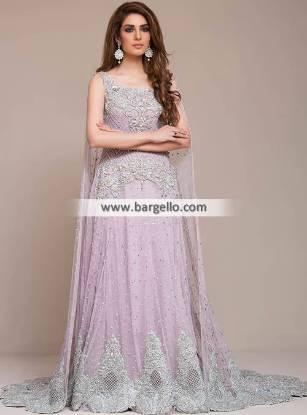 Pakistani Wedding Gowns Newark New Jersey USA Valima Dresses Reception Dresses