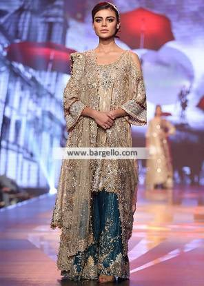 Asian Bridal Sharara Leicester UK Designer Bridal Sharara Dresses