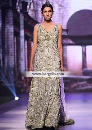 Engagement Dresses Pakistan Tabassum Mughal Wedding Gowns for Engagement