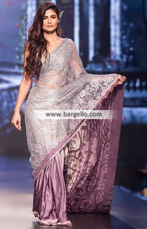 Bollywood Saree Indian Designer Saree Iowa USA Saadia Mirza Saree Collection