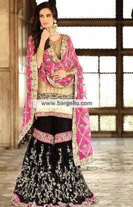 Asian Bridal Gharara Dresses Livingston UK