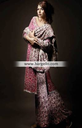 Asian Bridal Sharara Dresses Birmingham UK