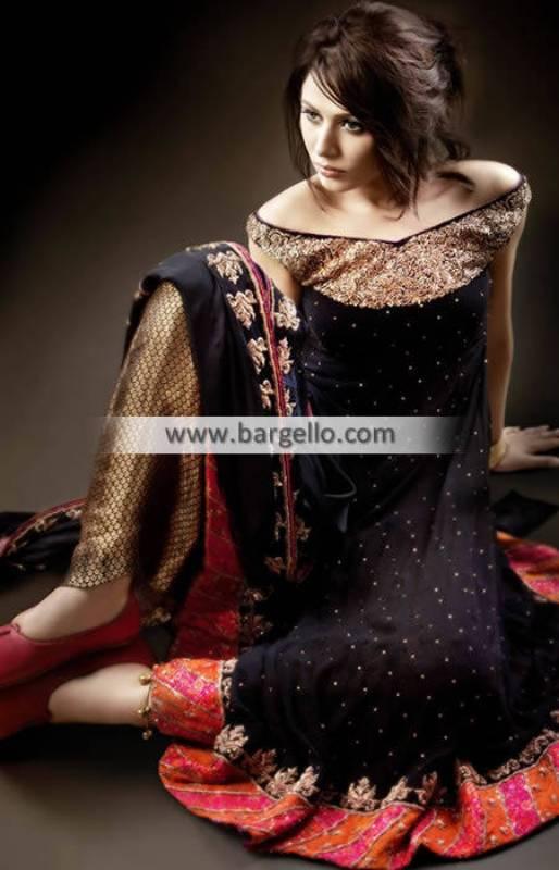 Pakistani Designer Anarkali Suits Manchester UK