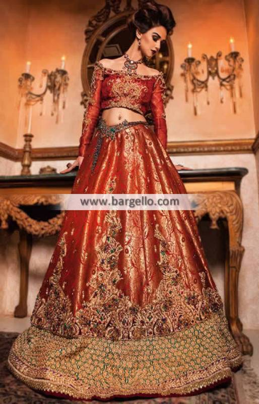 Pakistani Designer Bridal Lengha Doha Qatar