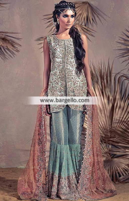 Designer Bridal Gharara Dresses Garden City Michigan MI USA