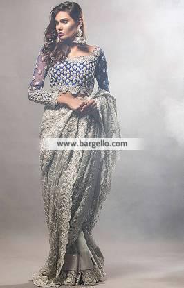 Designer Saree for Formal and Wedding Function Norcross GA USA Chiffon Saree Collection