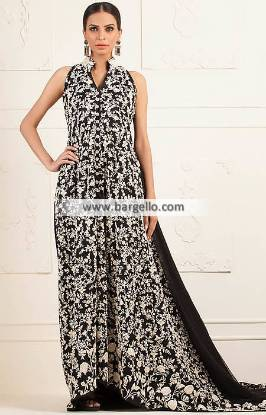 Black Color Weeding Gowns Beverly Hills California CA USA