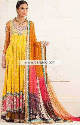 Bridal Anarkali Suits New York California CA USA