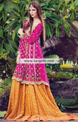 Angrakha Lehenga Dresses Keynes UK Sana Abbas Wedding Dresses