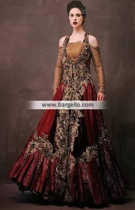 Pakistani Indian Anarkali Gowns Dresses Williston Park New York NY USA