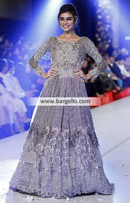 Gorgeous Anarkali Wedding Gown for Nikah and Valima Ilford UK HSY Wedding Dresses