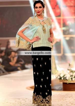 Modern Style Poncho Dress with Dhaka Pajama Lawrenceville New Jersey NJ US Dhaka Pajama Dresses