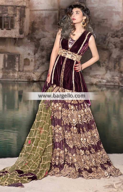 Gorgeous Pakistani Bridal Dresses Carteret New Jersey NJ US Saira Rizwan Bridal Dresses
