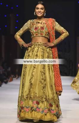 Exquisite Embellished Bridal Wear Lehenga Artesia California CA USA Pakistani Indian Bridal Lehenga