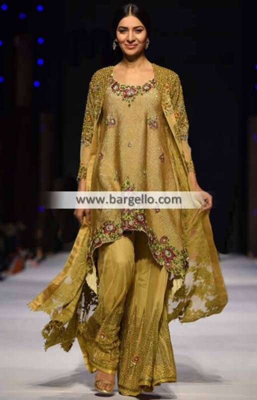 Bollywood Designer Sharara Haywar California CA USA Designer Sharara for Bridal and Social Events