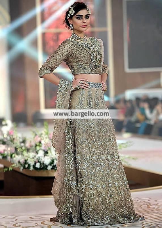 Exquisite Pakistani Bridal Dresses Couture Bridal Lehenga Alexandria Virginia VA US