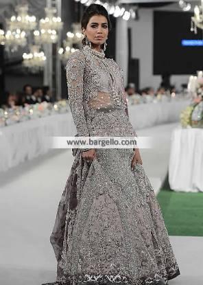 Beautiful Wedding Lehenga Tyne and Wear UK Pakistani Designer Lehenga Update with Modern Look
