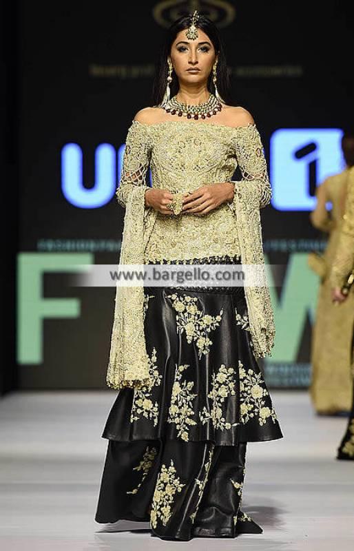 Asian Bridal Sharara Dresses Edinburgh UK Asian Bridal Sharara Collection