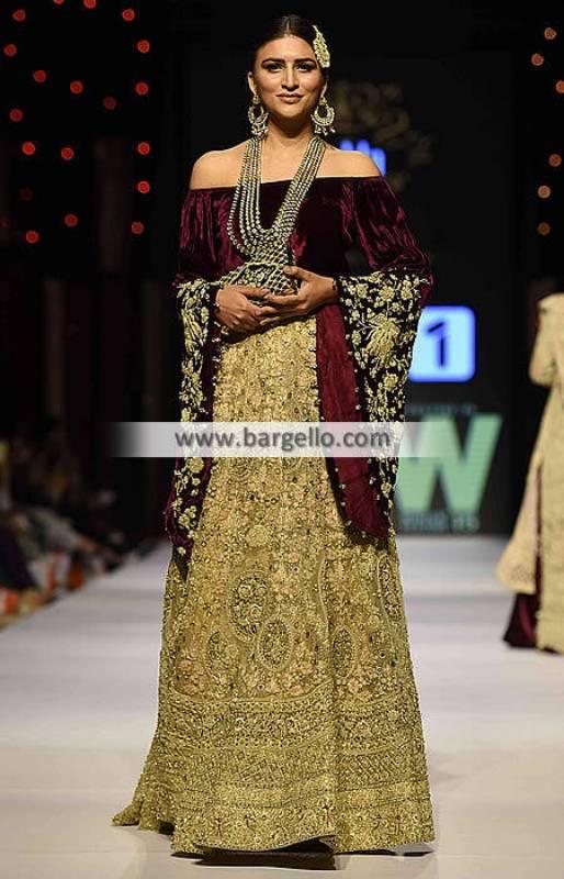 Pakistani Wedding Lehengas Collection 2016 Shehla Chatoor Wedding Dresses