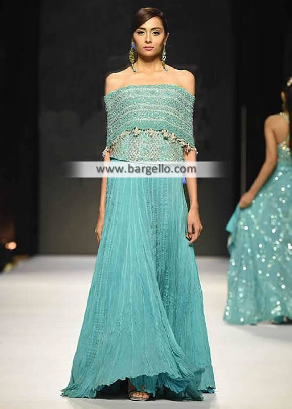 Pakistani Designer Lehengas Philadelphia Pennsylvannia PA USA Chiffon Lehngas