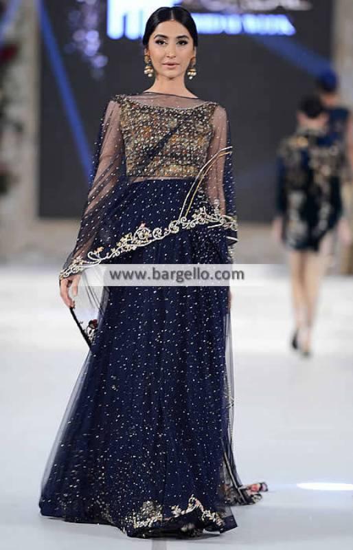 Pakistani Designer Lehenga Dresses Santa Clara California CA USA Sania Maskatiya Formal Dresses