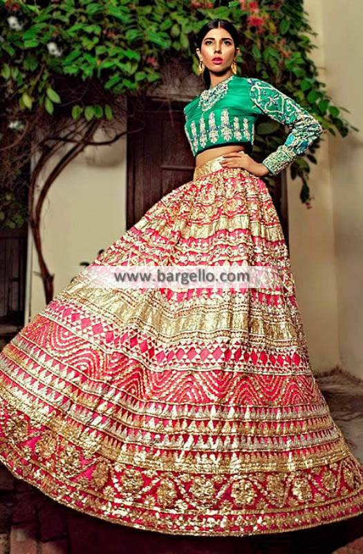 Kamiar Rokni Wedding Lehenga Dresses Forest Hills New York NY US Designer Wedding Lehenga Dresses