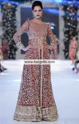 Karma PLBW Pakistani Wedding Gowns Nelson UK Pakistani Designer Gowns