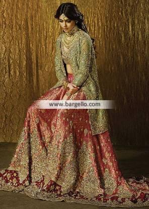 Faraz Manan Bridal Lehenga Dresses Lilburn Atlanta GA USA Exclusive Bridal Lehenga