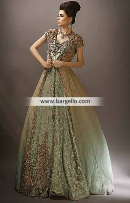Nilofer Shahid Dresses San Diego California CA USA Wedding Gowns