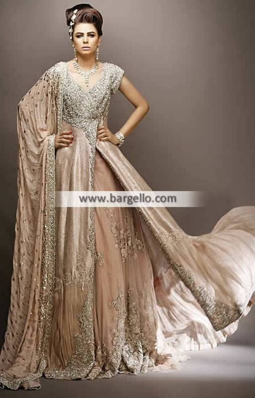Online Bridal Lehenga Nilofer Shahid Dresses San Mateo California CA USA