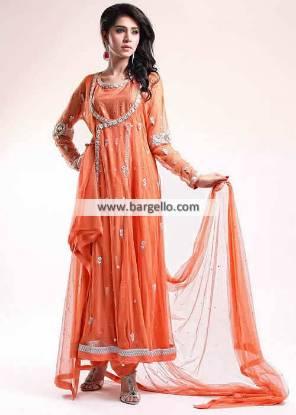 Angrakha Style Dresses Rockville MD Wedding Salwar Kameez