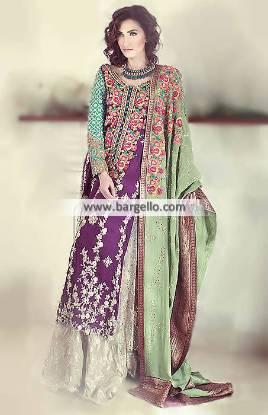 Gorgeous Special Occasion Dress with Beautiful Sharara Dresses Buckinghamshire UK Teena Durani