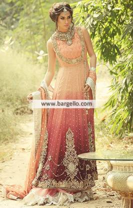 Luxurious Anarkali Bridal Dresses Syracuse New York NY US for Wedding and Special Occasions