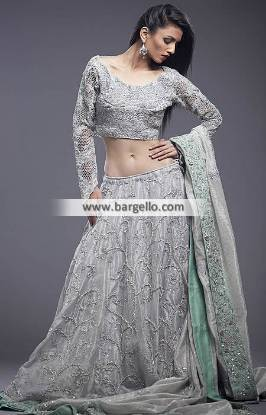 Artistic Wedding Lehenga Laguna Hills California CA USA Short Blouse Wedding Dresses