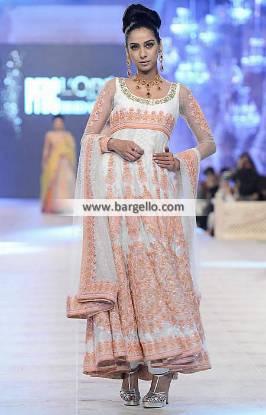 Elegant Anarkali Bridal Dresses Sydney Australia Nomi Ansari