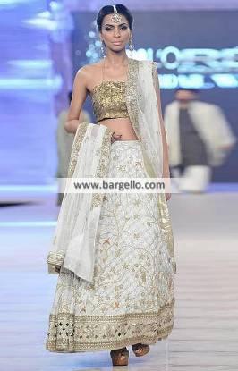 Bridesmaid Lehenga Indian Pakistani Wedding Lehenga Engagement Lehenga Nida Azwer Lehenga Collection