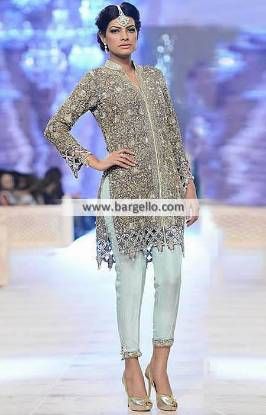 Charming Dress Eid Dress Formal Dinner Dress Party Dress Nida Azwer Dresses 2014