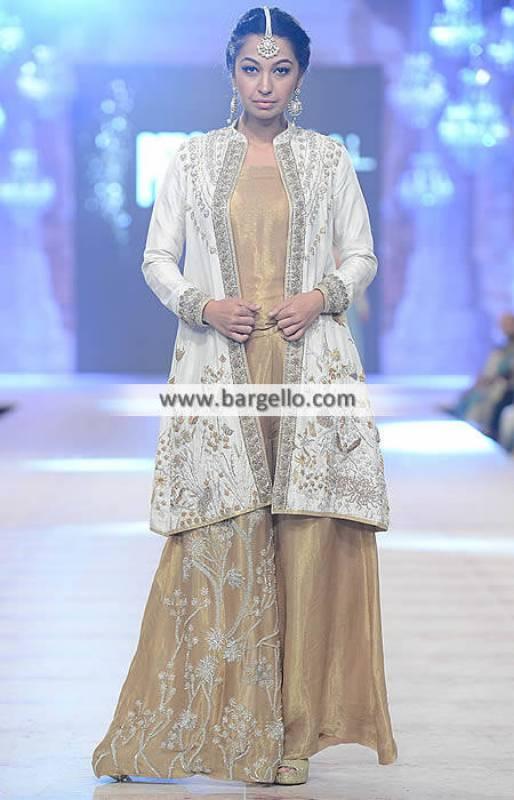 Gorgeous Jumpsuit Wedding Dress Evening Dress Nida Azwer Bridal Collection 2014