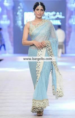 Marvelous Indian Pakistani Saree Wedding Guest Saree Nida Azwer Bridal Saree Collection PFDC