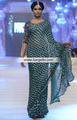 Nida Azwer Saree Collection Pakistani Saree Guest of Wedding Saree Formal Party Saree