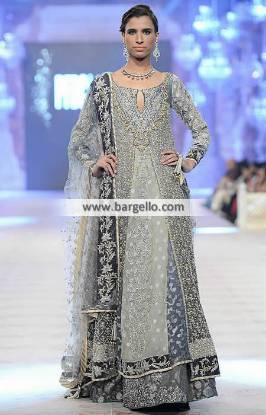 Enthralling Bridal Lehenga Dress for Reception and Valima