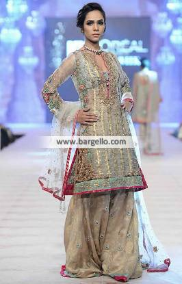 Bridal Sharara Outfit Pakistani Sharara Outfit Nickie Nina Sharara Collection PFDC