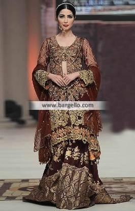 Saira Rizwan Bridal Lehenga Collection Alluring Lehenga Wedding Lehenga TBCW 2014