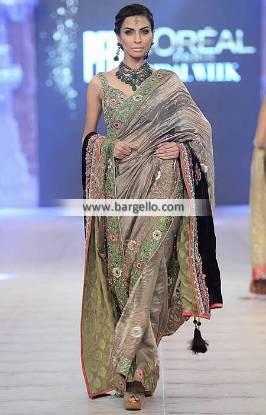 Fabulous Bridal Saree Wedding Dress Pakistani Saree Nickie Nina New Collection PFDC