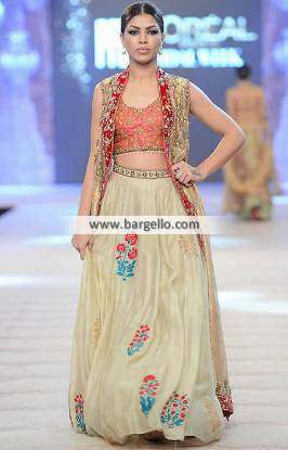 Bridesmaid Lehenga Dress Wedding Dress Misha Lakhani New Collection 2014 at PFDC