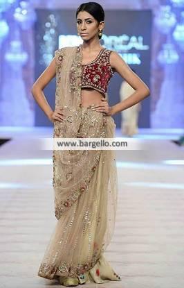 Astounding Saree for Wedding Dress Special Events Misha Lakhani Saree Collection 2014